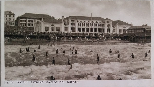 NO. 14. BATHING ENCLOSURE DURBAN.